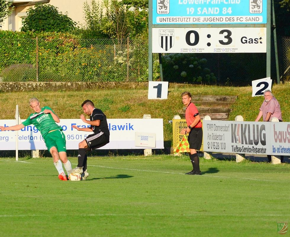 1.FC Sand – TSV Abtswind 0:3 (0:1) | 18.07.2018