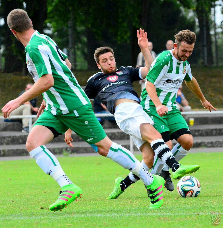 FC Schweinfurt 05 II - TSV Abtswind 3:2 (2:1) 18.07.2016