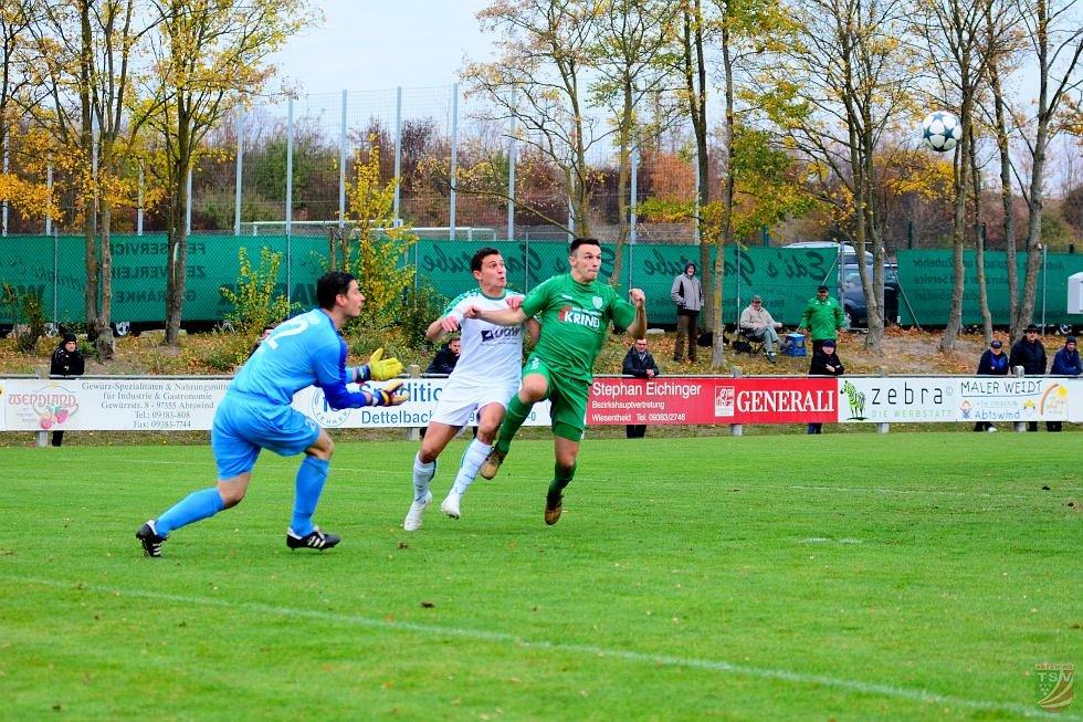 TSV Abtswind - 1.FC Sand  2:3 (1:3) | 03.11.2018