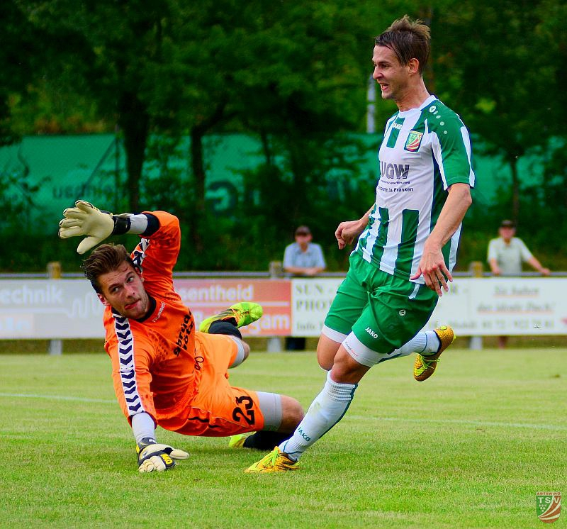 TSV Abtswind - TG Höchberg 5:0 (4:0) 22.07.2016