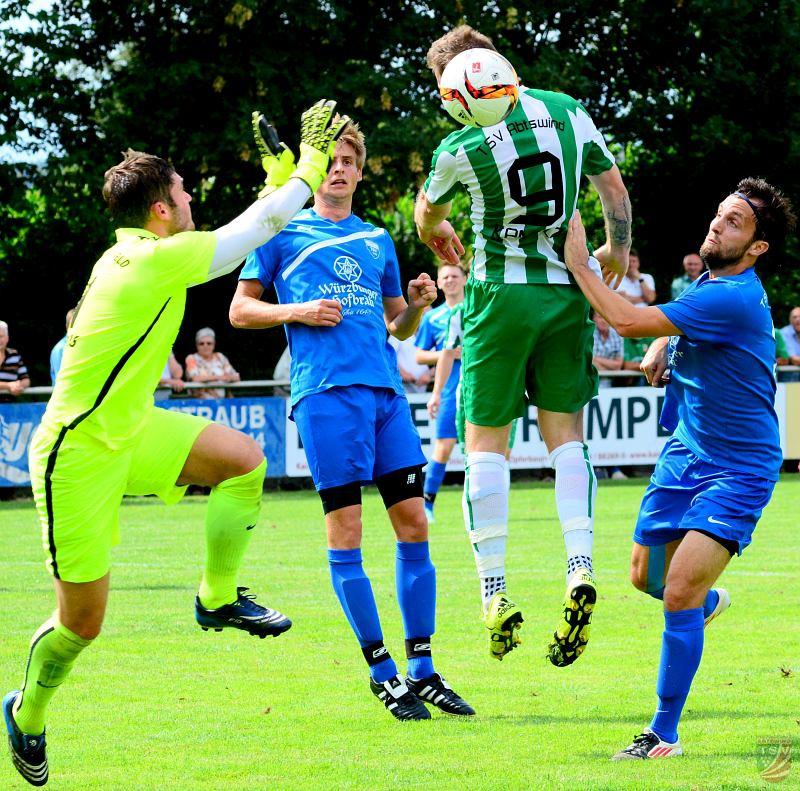 TSV Unterpleichfeld - TSV Abtswind 2:1 (0:1) 31.07.2016