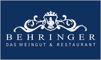 Sponsor Weingut Behringer