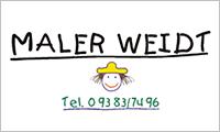 Sponsor Maler Weidt