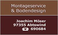 Sponsor Montageservice und Bodendesign