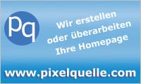 Sponsor Pixelquelle Homepage Erstellung