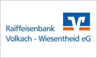 Sponsor Raiffeisenbank Volkach-Wiesentheid eG