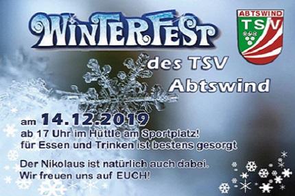 Winterfest des TSV am 14.12.