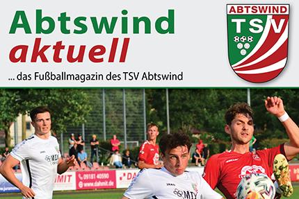 Neu aufgelegt: Abtswind aktuell – das Abtswinder Fußballmagazin