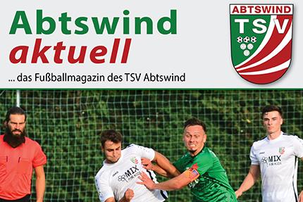Das Abtswinder Fußballmagazin zum Dreifach-Heimspiel-Wochenende